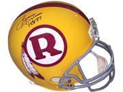 Sonny Jurgensen signed Washington Redskins Yellow TB Full Size Replica Helmet HOF 83 9SIA0CY3EH3065