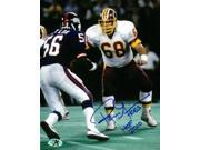 Russ Grimm signed Washington Redskins 8X10 Photo dual HOGS & HOF 2010 9SIA0CY3GR9815