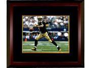 Drew Brees signed New Orleans Saints 8X10 Photo Custom Framed (black jersey passing) 9SIA0CY3V62044