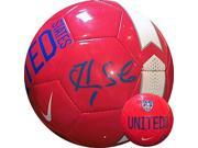 Hope Solo signed Nike Official Size 5 Red Soccer Ball (Olympics Team USA World Cup) 9SIA0CY40S0146