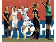Christen Press signed 8x10 Photo First Goal Team USA vs Australia 2015 World Cup (horizontal-front view)(Women's Soccer Team) 9SIA0CY3WX8408