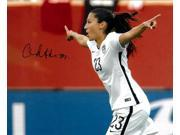 Christen Press signed 8x10 Photo First Goal Team USA vs Australia 2015 World Cup (horizontal-side view)(Women's Soccer Team) 9SIA0CY3WX8508