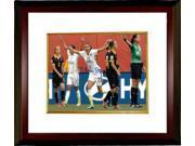 Christen Press signed 8x10 Photo Custom Framed First Goal Team USA 15 World Cup (horizontal-front view)(Women's Soccer) 9SIA0CY3YV9761