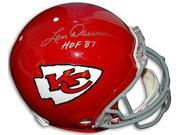 Len Dawson signed Kansas City Chiefs TB Full Size Proline Helmet HOF 87 9SIA0CY40S0161