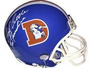 "Floyd Little signed Denver Broncos TB """"D"""" Mini Helmet The Franchise"" 9SIA0CY40S0211"
