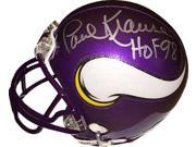Paul Krause signed Minnesota Vikings Mini Helmet HOF 98 (silver sig) 9SIA0CY42T4501