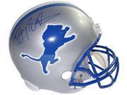 Barry Sanders signed Detroit Lions Full Size Replica TB Helmet- Steiner Hologram (blue sig) 9SIA0CY4338791