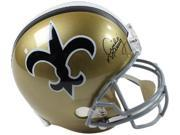 Archie Manning signed New Orleans Saints Full Size TB Replica Helmet (gray mask)- Steiner Hologram 9SIA0CY48F2851