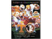 Tennessee Volunteers vs Florida State Seminoles College Football Tostitos Fiesta Bowl Nat Champ Game Program- Jan 4, 1999 9SIA0CY6E53997