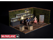 McFarlane Toys Building Sets -The Walking Dead TV The Governor's Room Building Set (292 pcs/pzs) 9SIA17P5K25230