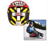 SportsStuff 30-1702 Heavy-Duty PVC Swiss Luge Snow Tube