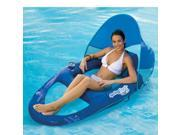 Spring Float Pool Recliner with Canopy By Swimways