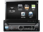 "Power Acoustik 7"" Single Din Flip out LCD Touchscreen Media Player (Mechless)"