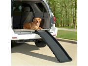 Solvit Products Ultralite Bi Fold Pet Ramp Black 62X16X4 Inch 62321