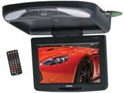 """Soundstorm 11.2"""" Widescreen Flip Down TFT Monitor with DVD Black"""