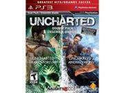 Sony PlayStation 98375 Uncharted 1 2 dual pack ps3