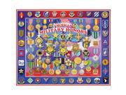 """Jigsaw Puzzle 1000 Pieces 24""""X30""""-Military Honors"""