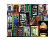 """Jigsaw Puzzle 550 Pieces 18""""X24"""" -Doors Of The World"""