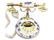 9005 Porcelain Phone Blue and White
