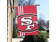 "Party Animal San Francisco 49ers Bold Logo Banner - United States - 36"""" x 24"""" - Lightweight, Dye Sublimated - Polyester"" 9SIV0W850X6938"