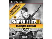 505 Games Sniper Elite III Ultimate Edition - Third Person Shooter - PlayStation 3