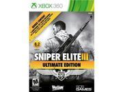 505 Games Sniper Elite III Ultimate Edition - Third Person Shooter - Xbox 360