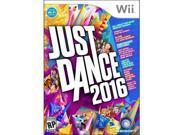 Ubisoft Just Dance 2016 - Entertainment Game - Wii