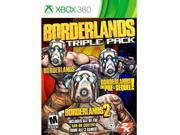 Borderlands Triple Pack X360 9B-0PC-0002-000B4