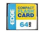 EDGE Tech 64MB Digital Media CompactFlash Card