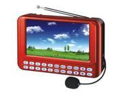 QFX Inc. Portable System 4.3 TFT Screen FMRadio PD 43