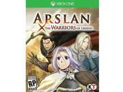 Arslan Warriors of Legend XOne