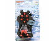Winter Tuff Ice Traction Overshoe Black Medium