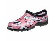 Sloggers Cowbella Womens Pink Garden Shoe Size 10