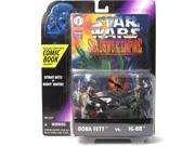 Boba Fett and IG-88 Star Wars Shadows of the Empire Comic Action Figure 2 Pack 9SIA17P78H9489
