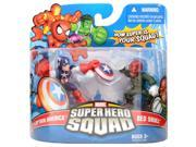 Captain America and Red Skull Marvel Super Hero Squad Action Figure 2 Pack 9SIV16A6785185