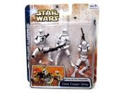 Clone Trooper Army Star Wars Army of the Republic Clone Wars Figure 3 Pack 9SIAD245E08203