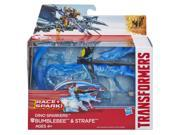 Bumblebee & Strafe Transformers 4 Movie Dino Sparkers Action Figures 9SIAD245DZ0141