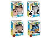 Family Guy POP! Animation #31-34 Vinyl Figures Bundle 9SIA79734E5674