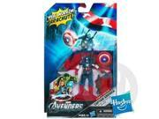 MARVEL THE AVENGERS CAPTAIN AMERICA Aerial Infiltration Mission Figure 9SIA0KW0CP6684