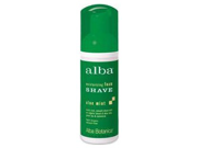 Moisturizing Foam Shave Aloe Mint - 5 oz - Lotion