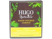 Vanilla & Sweet Orange Hand Poured Candle - Hugo Naturals - 1 - Candle