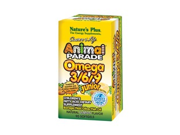 Animal Parade Omega 3-6-9 Junior Lemon Flavor - Nature's Plus - 90 - Softgel