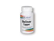 BioCitrate Copper - Solaray - 60 - Capsule