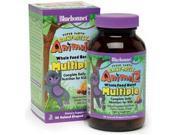 Super Earth Rainforest Animalz Whole Food Based Multiple - Orange, Grape, Cherry - Bluebonnet - 180 - Chewable