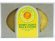 Honey, Goat's Milk, and Clover Soap - Sunfeather - 4.3 oz - Bar Soap