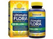 Ultimate Flora Ultra Potent 100 Billion - Renew Life - 30 - VegCap