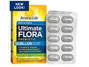 Ultimate Flora Extra Care Probiotic Go Pack 50 Billion (Formerly RTS Critical Care) - Renew Life - 30 - Capsule