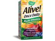 Alive Once Daily Multi Vitamin Ultra Potency - Nature's Way - 60 - Tablet