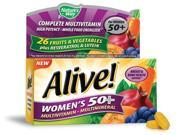 Alive Women s 50 Multivitamin Multimineral Nature s Way 50 Tablet