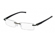 Tag Heuer 0843 Eyeglasses in color code 001 in size:53/18/0